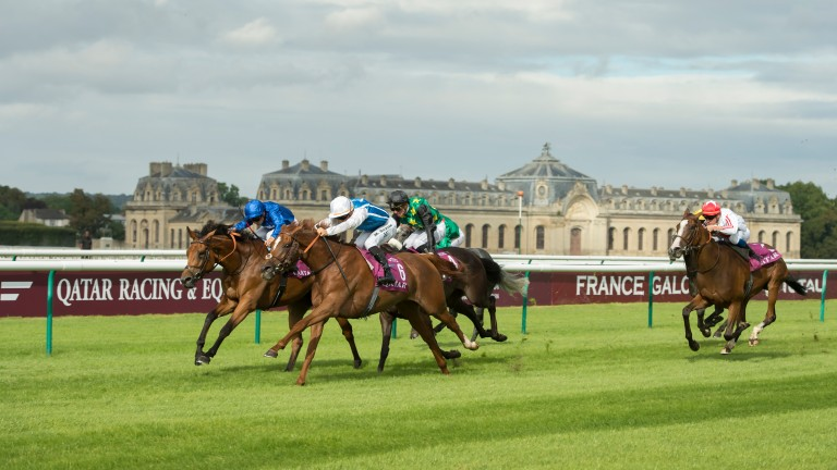 Chantilly: last year's Arc day covered by Sky Sports