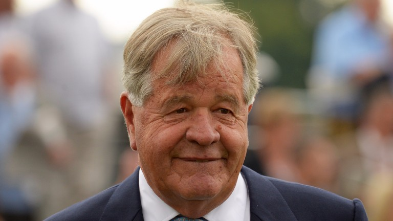 Sir Michael Stoute: hopes Ulysses will be his fifth Breeders' Cup Turf winner