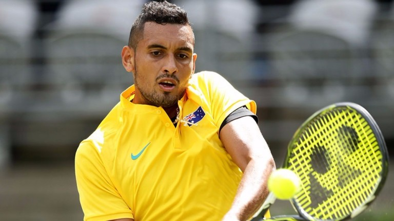 Aussie ace Nick Kyrgios has bags of ability
