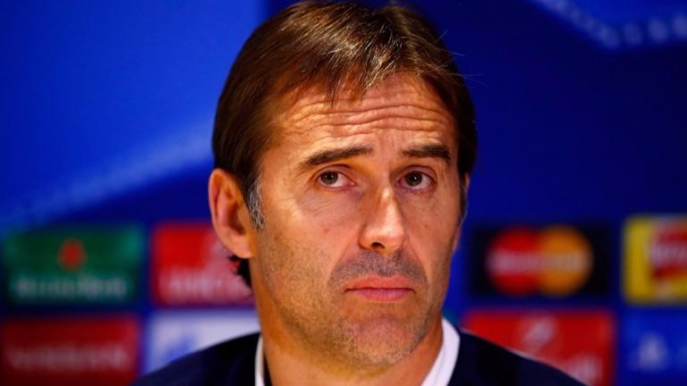 Spain boss Julen Lopetegui