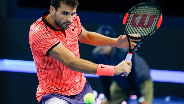 Grigor Dimitrov is already in the semis