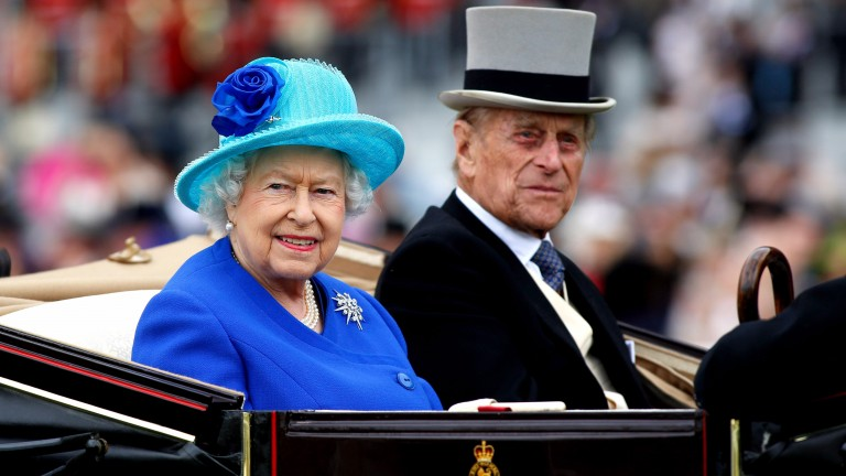 The Queen (with the Duke of Edinburgh): turns 91 today