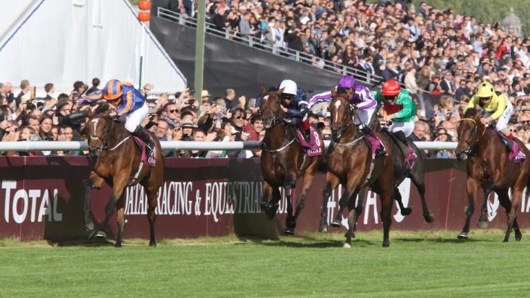 Found leads a stable one-two-three in the Qatar Prix De L'Arc De Triomphe