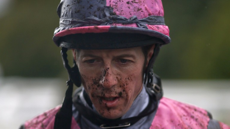 Jim Crowley: thankful to have suffered only a broken nose