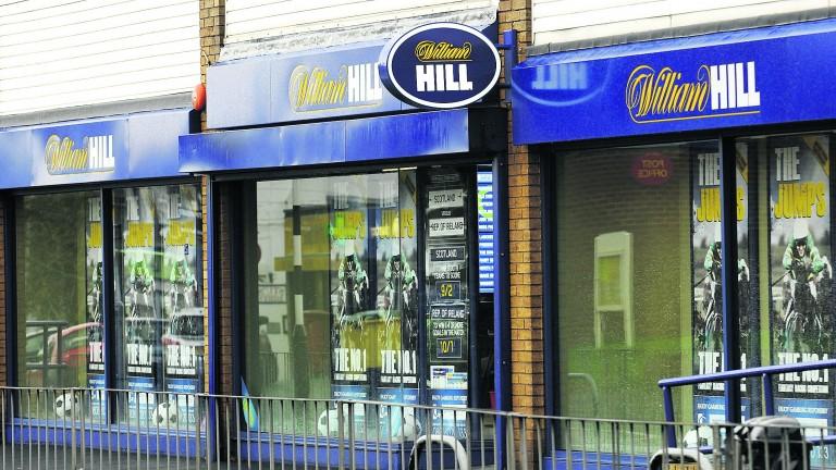 William Hill: Operating profits fell three per cent in 2018