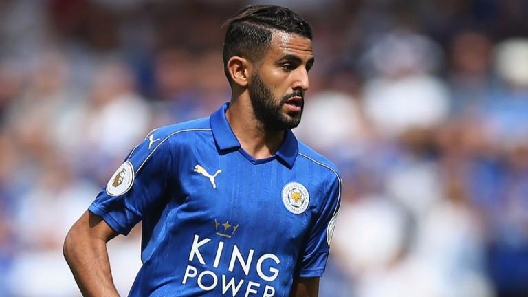 Leicester's Riyad Mahrez