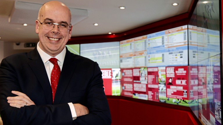 Ladbrokes chief executive Jim Mullen