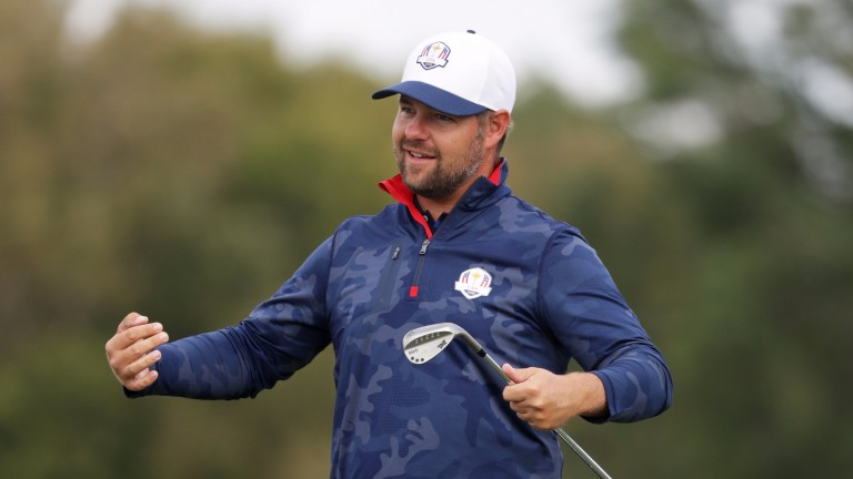 Ryan Moore was a member of the USA's victorious Ryder Cup team