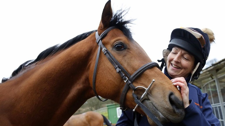 Alyson Deniel: will ride Jamie Osborne's Long John Silver in the Ladies' Derby
