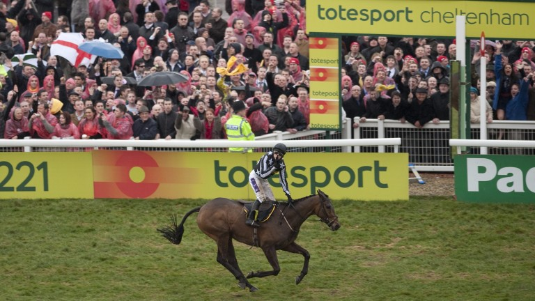 Paddy Brennan won the Cheltenham Gold Cup on Imperial Commander in 2010