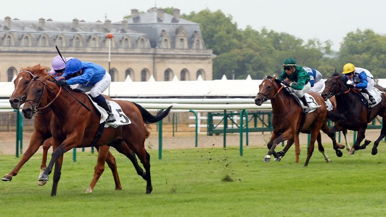 Territories: trained by Andre Fabre to win the Group 1 Prix Jean Prat