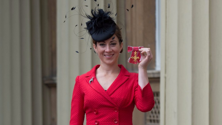 Hayley Turner: received Officer of the Order of the British Empire (OBE) for services to horse racing