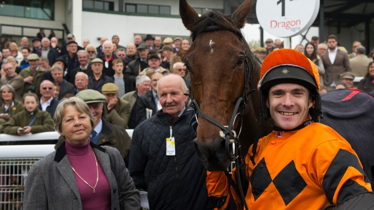 Thistlecrack: could thrill racegoers in the 3m novice chase on Saturday