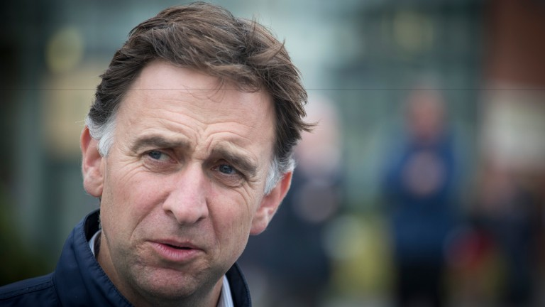 Henry de Bromhead: scored victory in the Galway Plate with Balko Des Flos