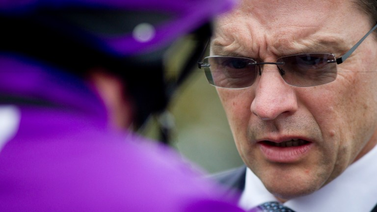 Aidan O'Brien is delighted to see his old school continue to blood young racing talent