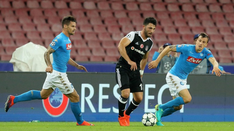 Napoli are looking to redeem themselves against Dynamo Kiev
