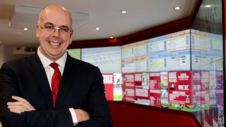 Ladbrokes Coral CEO Jim Mullen paid tribute to Lee Drabwell