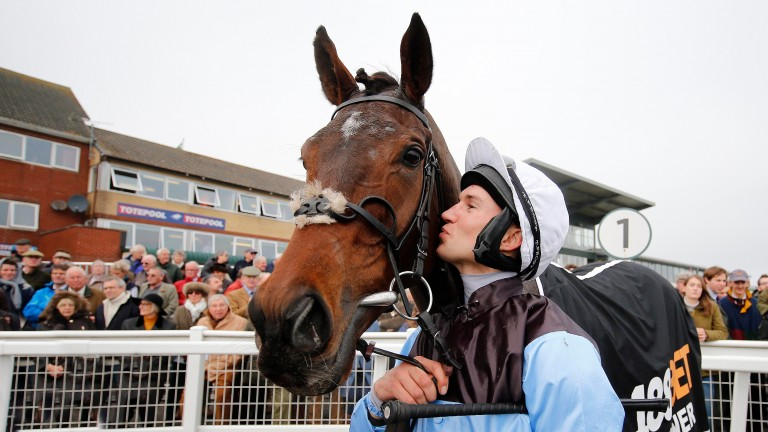 Panellist Adrian Heskin and Sir Valentino, who could be best of the rest in the Betway Champion Chase