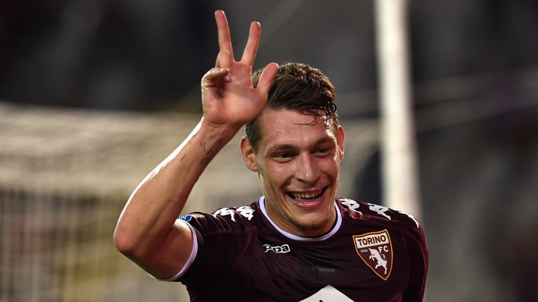 Andrea Belotti has scored 13 league goals for Torino