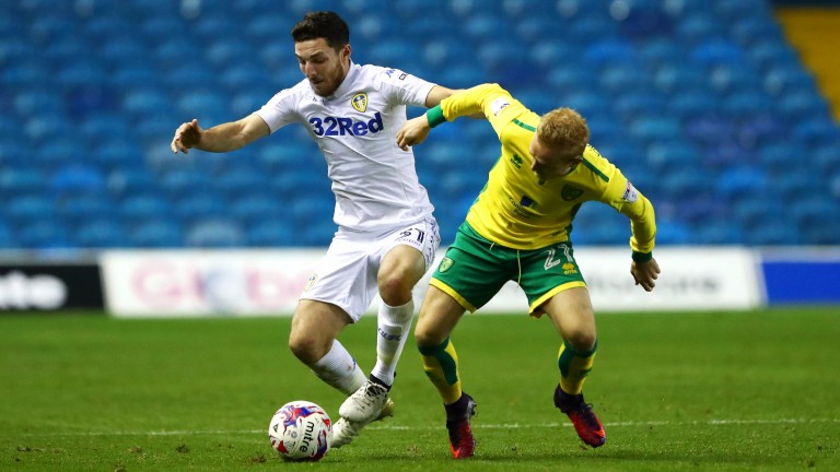 Leeds dumped Norwich out of the EFL Cup in October