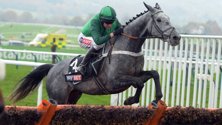 Vyta Du Roc goes on trial over hurdles at Aintree today for the Hennessy in three weeks time