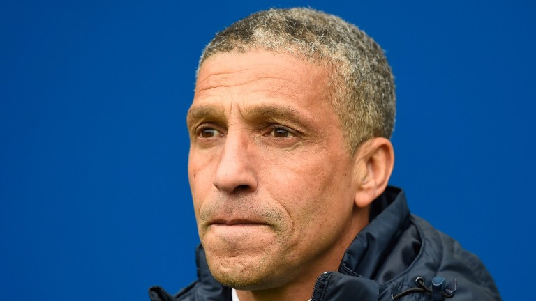 Brighton boss Chris Hughton could be celebrating promotion at the end of the season