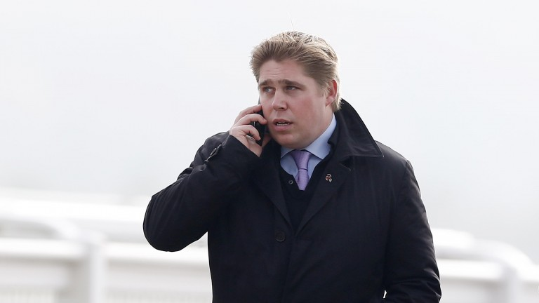 Dan Skelton: trainer of Ravens Hill