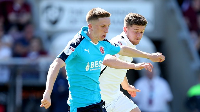 Ashley Hunter should be a threat for Fleetwood