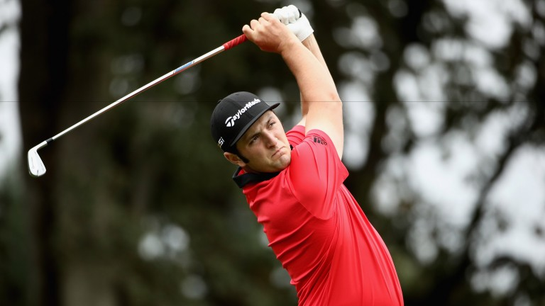 Jon Rahm turns 22 on Thursday looking like the complete golfing package