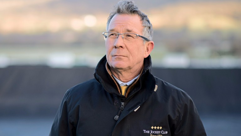 Simon Claisse: expecting a heavy downpour at Cheltenham