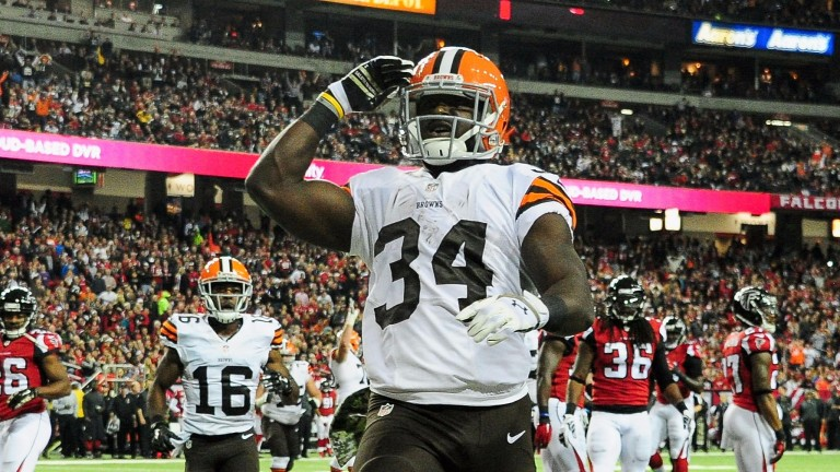 It could be a big night for Browns rusher Isaiah Crowell