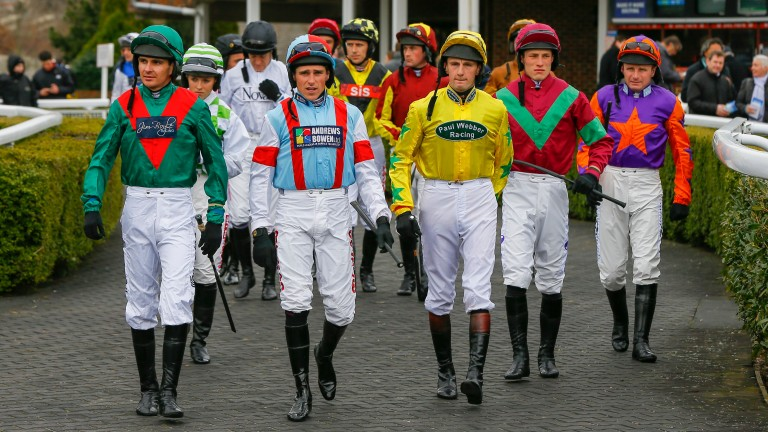 Riders: national day a boost for the Injured Jockeys Fund