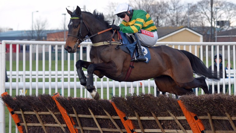 Winter Escape and Barry Geraghty at Doncaster in February