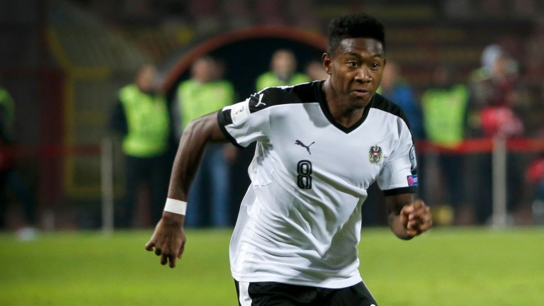 Austria remain overly reliant on David Alaba