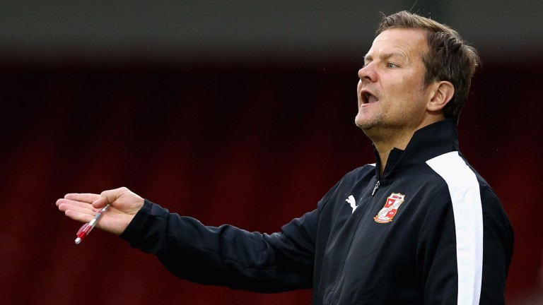 Mark Cooper's Forest Green are riding high