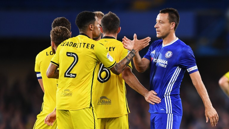 Bristol Rovers lost 3-2 at Chelsea in the EFL Cup