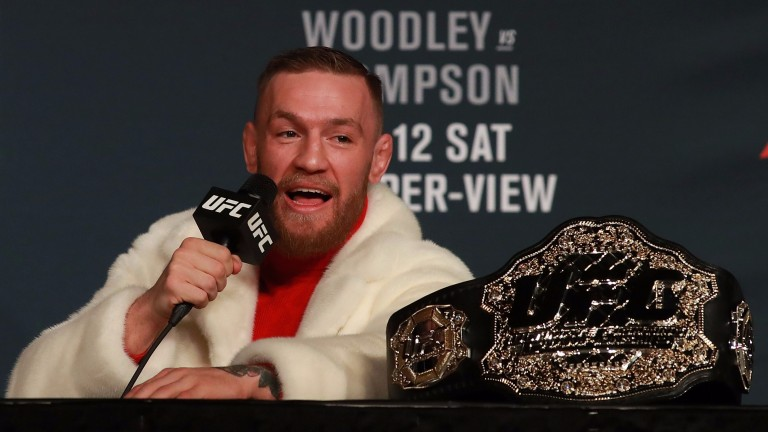 UFC featherweight champion Conor McGregor