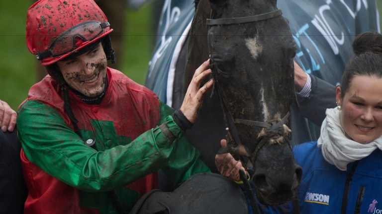 Taquin Du Seuil and Aidan Coleman after Cheltenham triumph last month