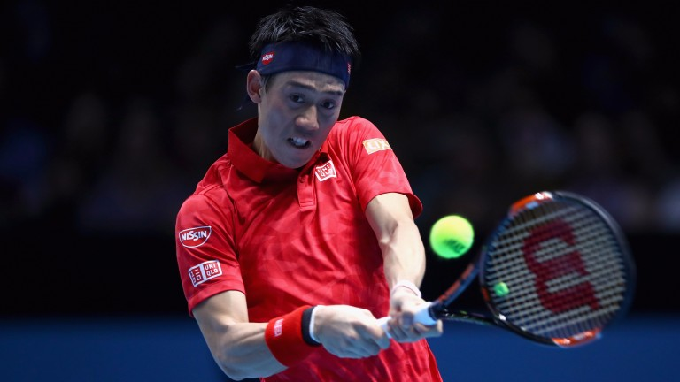 Kei Nishikori is chasing a third success in Tokyo