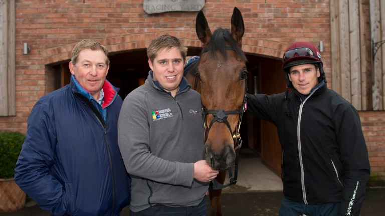 Dan Skelton (centre) and Harry Skelton (right) have a good record together