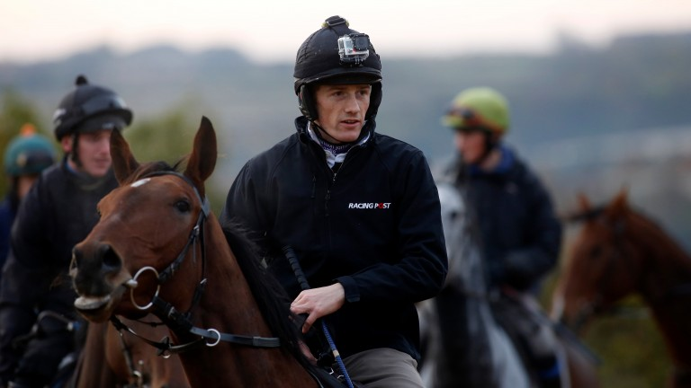 Sam Twiston-Davies: set to return to the saddle by the end of the November
