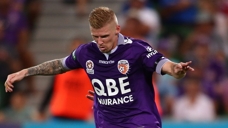 Perth Glory frontman Andy Keogh could take some stopping