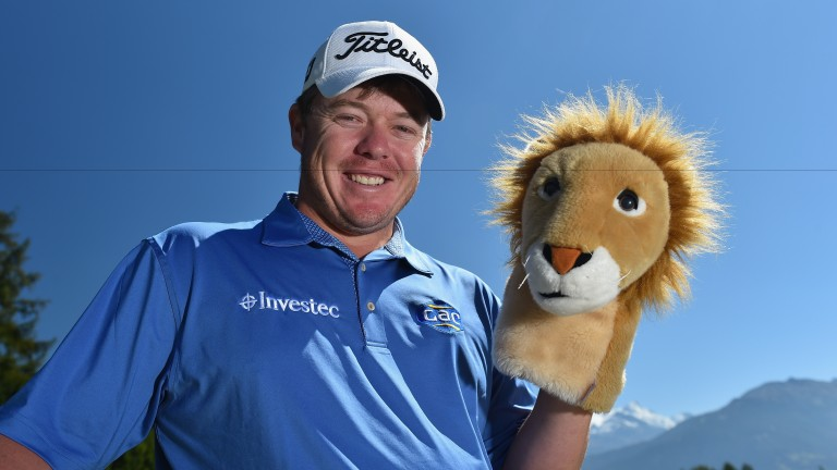 George Coetzee could be all smiles by the end of round four