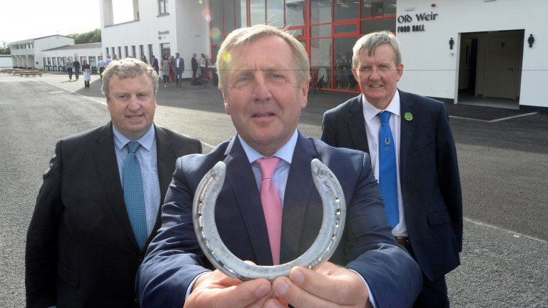 Michael Creed TD (centre): Minister for Agriculture, Food and the Marine