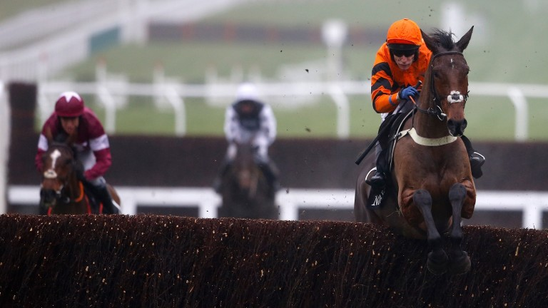 Thistlecrack (right): has the smack of greatness about him