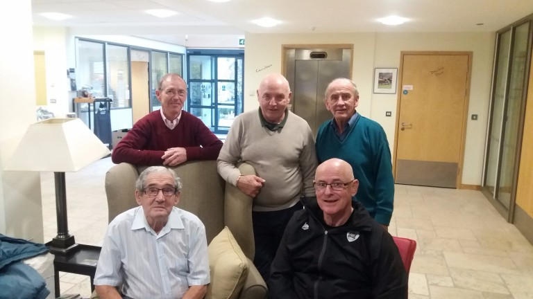 John Reid, Jumbo Heaney, Tommy Jennings, Jack Nelson and Phil Wright