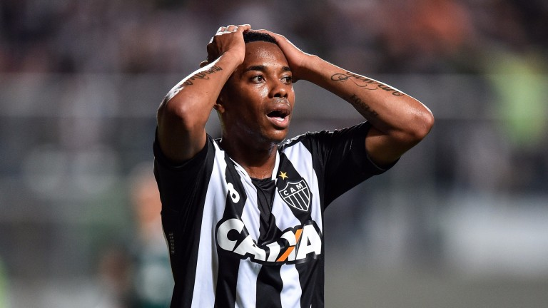 Atletico Mineiro's Robinho will be keen to make an impact