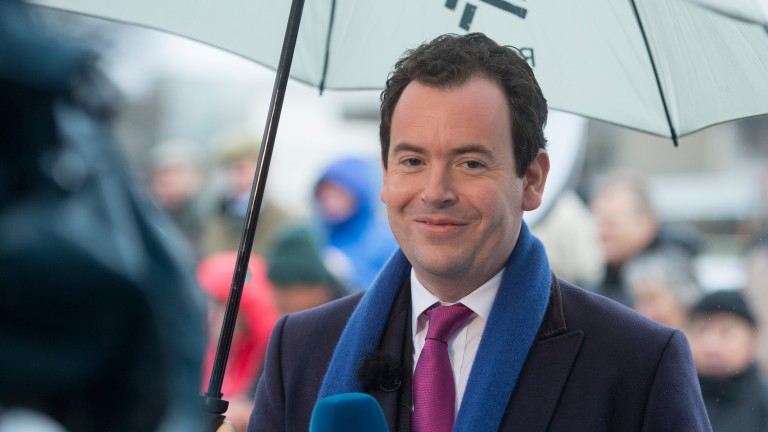 Nick Luck: hopes the virtual Grand National will attract a big television audience