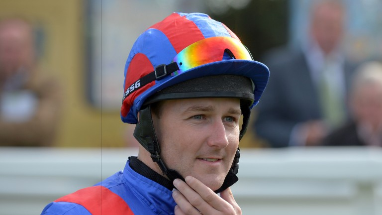 Tom Queally: landed a hat-trick at Newcastle on Friday