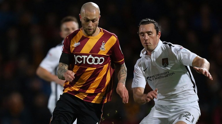 Bradford's Nicky Law could have a big part to play at Wembley